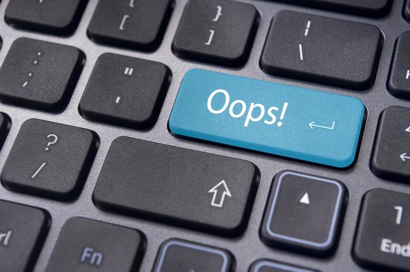 Even credit reporting agencies make simple errors.